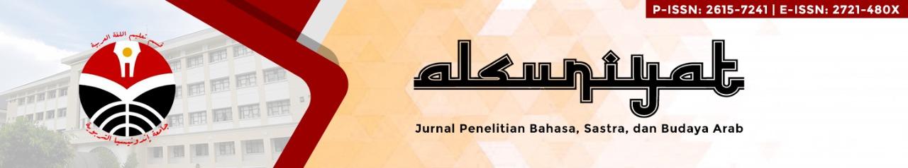 ALSUNIYAT: Jurnal Penelitian Bahasa, Sastra, dan Budaya Arab