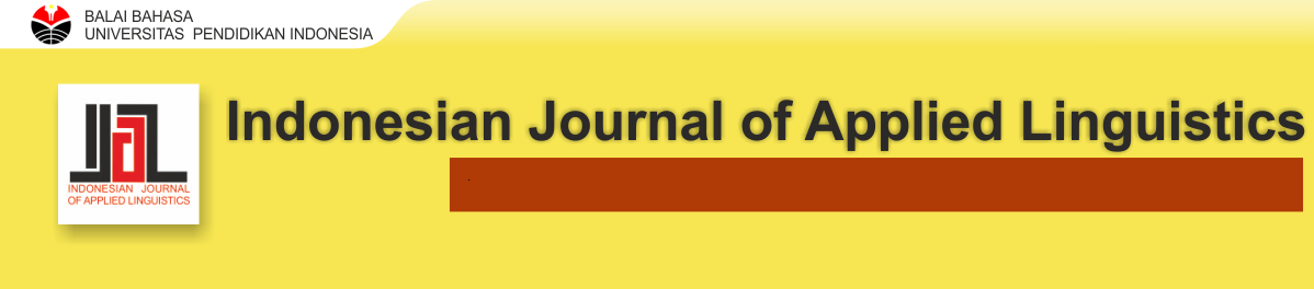Indonesian Journal of Applied Linguistics