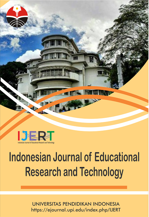 Cover - Indonesian Journal of Educational Research and Technology