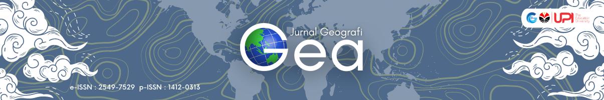 JURNAL GEOGRAFI GEA